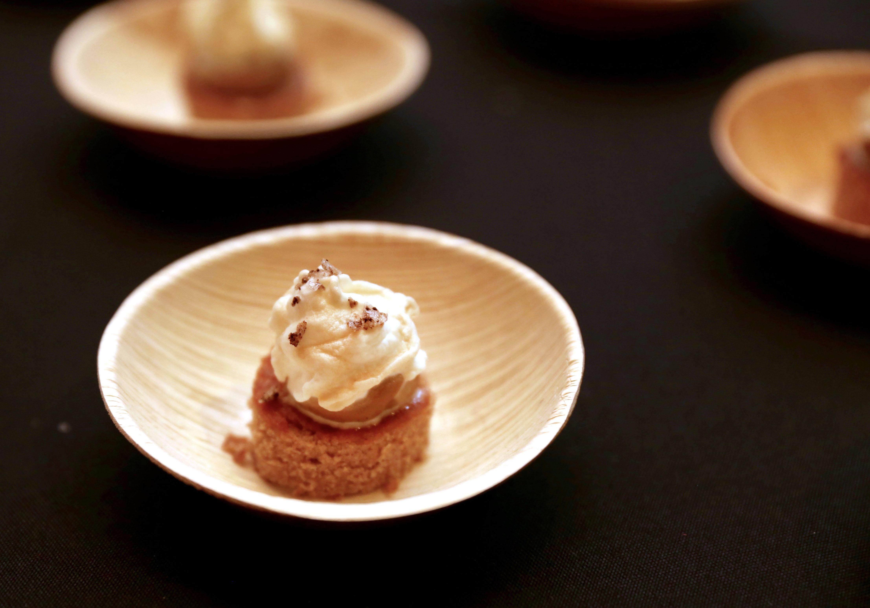 White Russian Vanilla Chiffon Cake