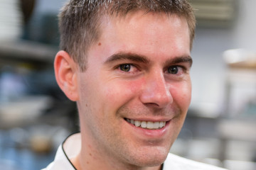 Lucy's chef Nate Lindsay