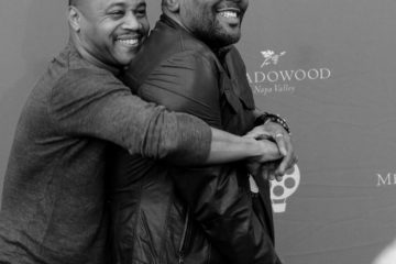 Actors Cuba Gooding jr. and Lee Daniels Photo by Lowell Downey