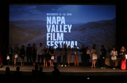 YOUNTVILLE, CA - NOVEMBER 12: Awards Ceremony at the Lincoln Theater during the 2016 Napa Valley Film Festival on November 12, 2016 in Yountville, California. (Photo by Chuck Hall/PictureGroup)