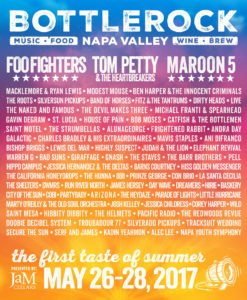 BottleRock Napa Valley 2017 Lineup