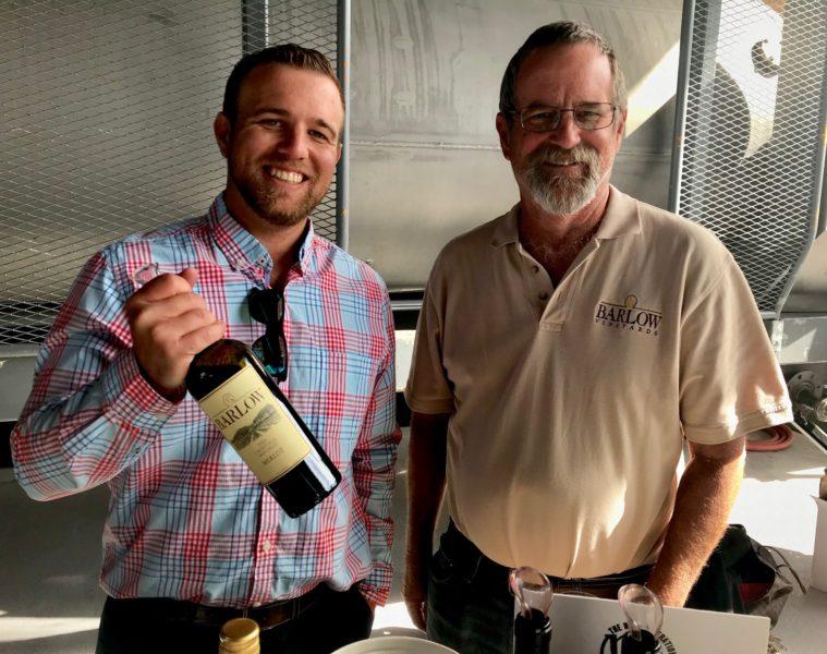 Zachery Smith of Barlow Vineyards