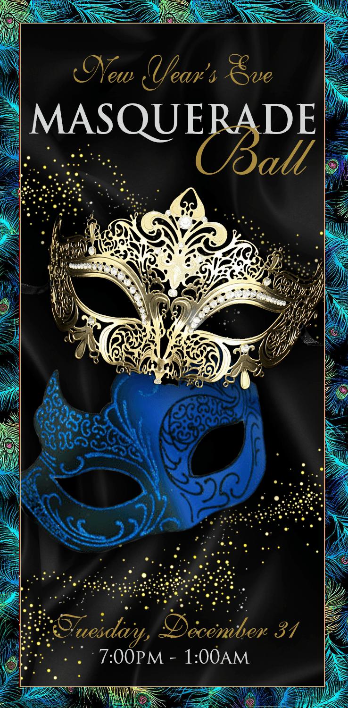 New Year's Eve Masquerade Ball - Napa Valley Life Magazine