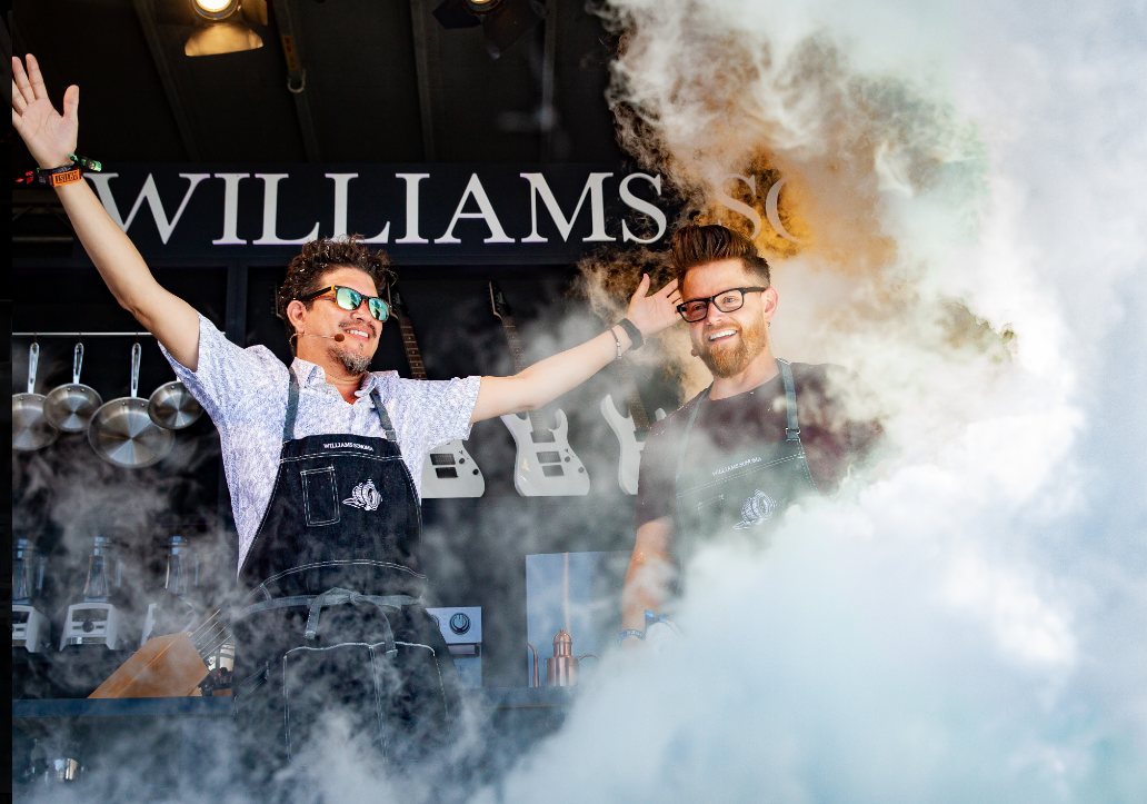 BottleRock Napa Valley 2019 William Sonoma Culinary Stage Lineup