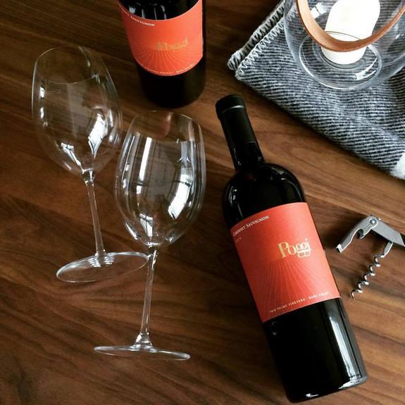 poggi wine bottles