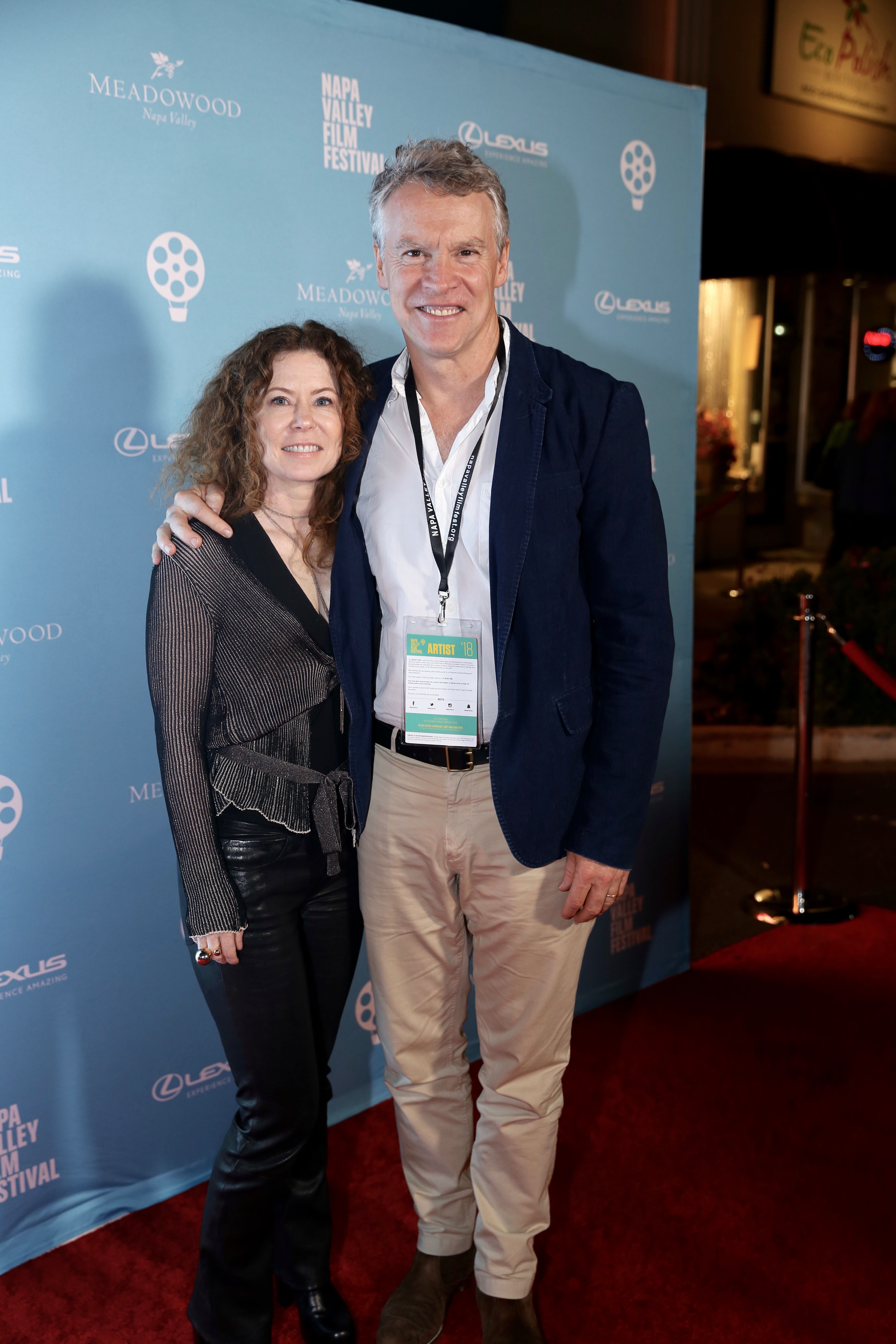 Grace Director, Devon Adair and Actor Tate Donovan