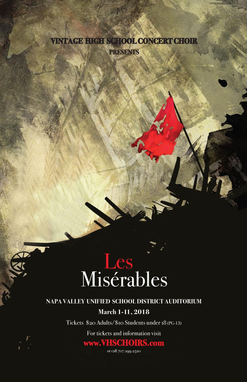 Vintage High Concert Choir Presents Les Miserables Napa Valley Life Magazine