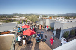Sky & Vine Rooftop Bar