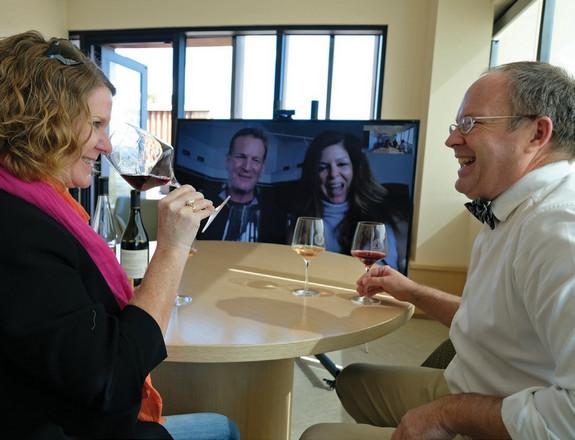 virtual tasting wine