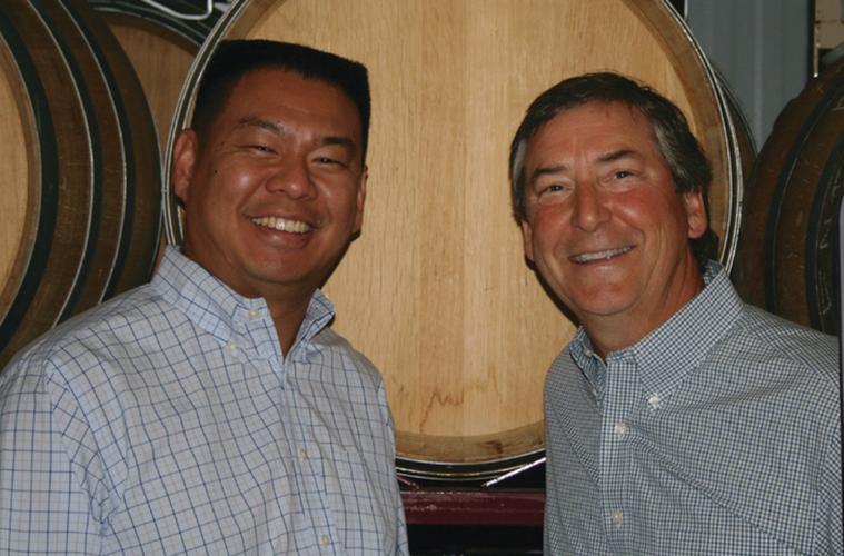 david clinton wine cellar